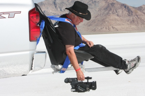 The Flying Chair is built Using Aircraft-grade Aluminum