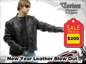 January's Hot Leather Sale