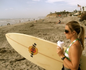Let's Go Surfing Now WIth XPress Lid by SmartCup