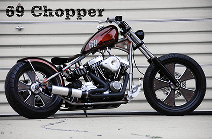 Brass Balls Bobbers and Choppers Motorcycles