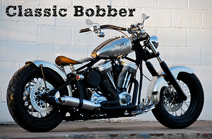 Classic Bobber with Performance Canister Pipe