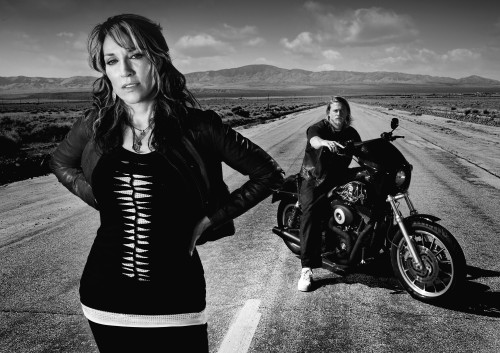 Sons of Anarchy  depicts a Californian outlaw biker gang and features Charlie Hunnam, Katey Sagal, Ron Perlman, and a huge inventory of black big twin Harley-Davidson motorcycles.  The reason it is on the air is because the FX network has set up shop to deliver programming aimed at young men whom marketers pay a premium to reach. The Sons are a top-rated drama that reaches mostly male viewers with an average age of 38---that is a sweet spot for advertisers.